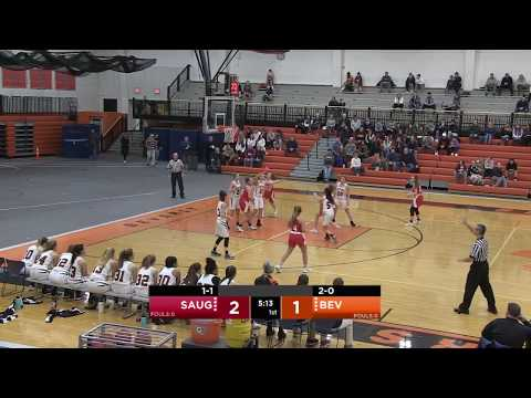 Saugus vs Beverly High School Girls High School 12/19/19