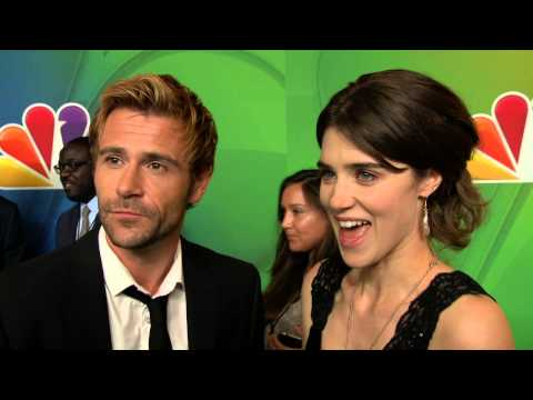 CONSTANTINE: Matt Ryan and Lucy Griffiths NBC Upfronts TV