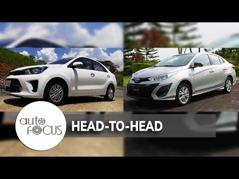 Toyota Vios VS. Kia Soluto   Head-to-Head
