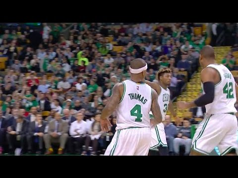 Isaiah Thomas - Double Staggered Screen Actions