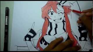 Speed Drawing Yoko Littner
