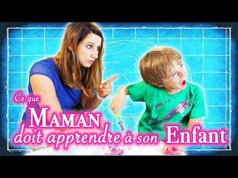 HUGO FAIT SON SHOW 10 : CE QUE MAMAN DOIT APPRENDRE À SON ENFANT ! - ANGIE LA CRAZY SÉRIE