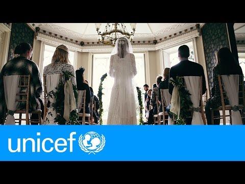 Un mariage de conte de fées... À un détail près | UNICEF