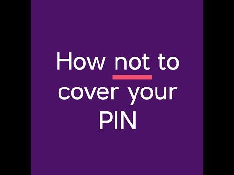 How To Hide Your PIN
