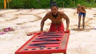 Survivor: Cagayan - Immunity Challenge: Inside Track
