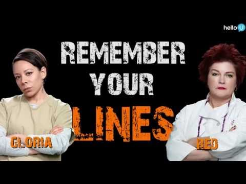 The ORANGE IS THE NEW BLACK Ladies Play 'Remember Your Lines'