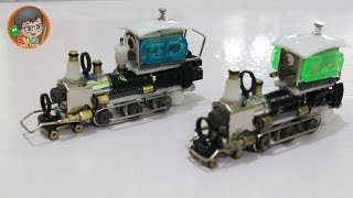 How to Make Toy Train Locomotive from cheap Lighters | Limbah Korek Gas
