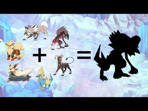 Pokemon Fusion Requests #123: Stoutland/Lycanroc/Midday/Arcanine/Houndoom/Lycanroc Midnight/Manetric