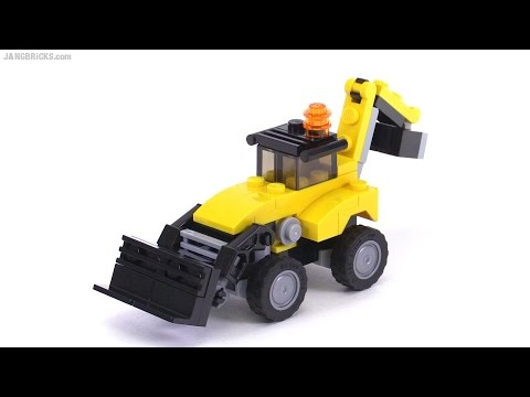lego creator mini construction vehicles 3 in 1 review set. Black Bedroom Furniture Sets. Home Design Ideas