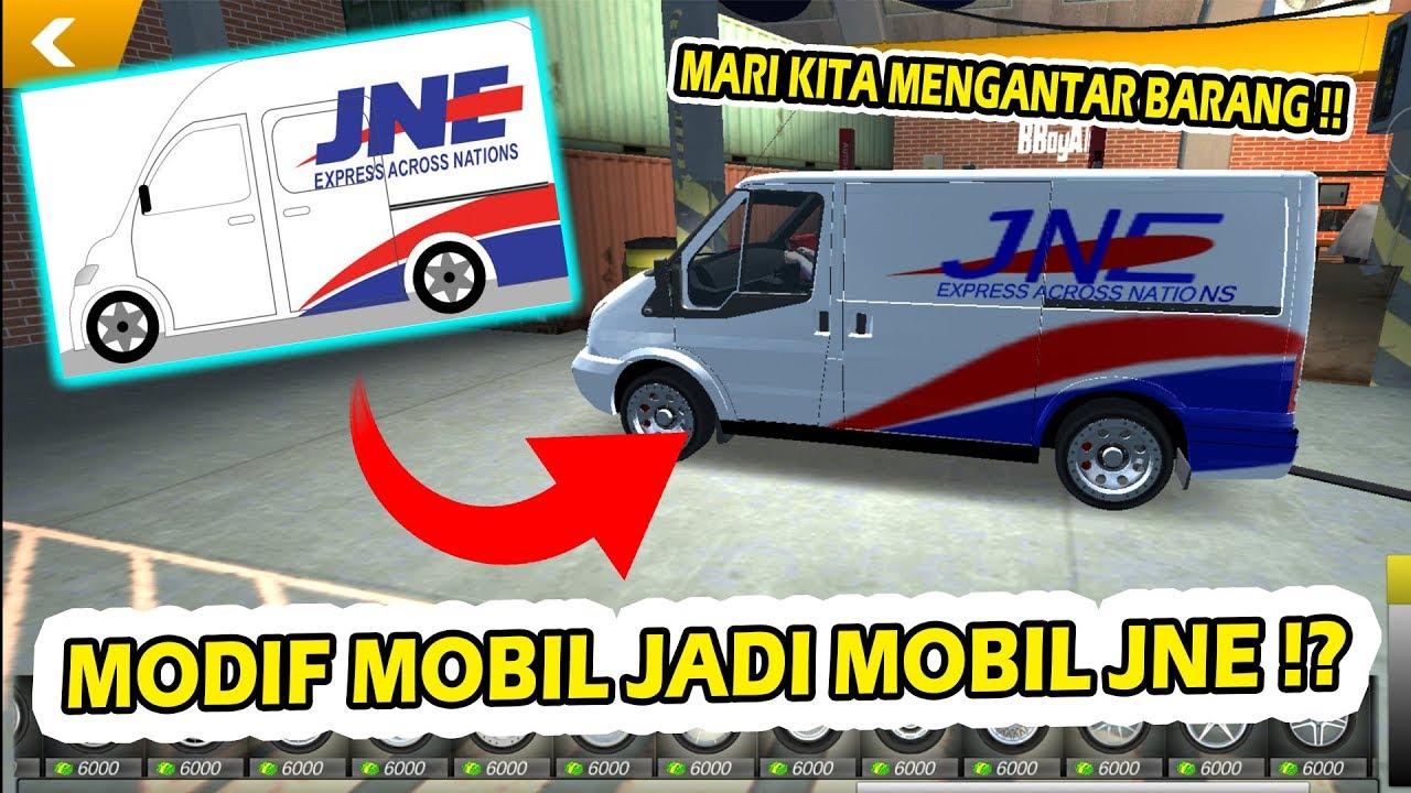 Cara Modifikasi Mobil Jadi Mobil Jne Car Parking Multiplayer Youtube