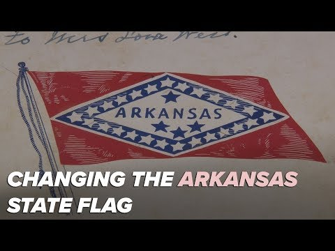 Proposal To Change Arkansas's State Flag