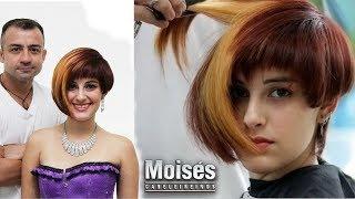 ✂ Short Bob Hair Moisés Cabeleireiro