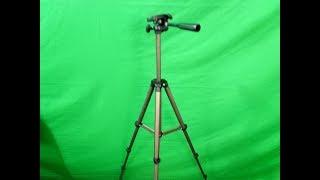 Eocean 50 Inch Tripod, Lightweight Aluminum iPhone Tripod, Video Tripod for Cellphone and Camera, Un