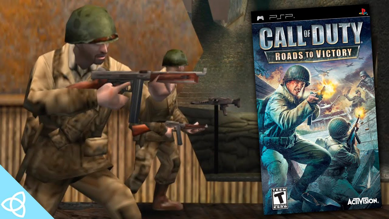 Call Of Duty Roads To Victory Psp Gameplay Demakes 54 Youtube