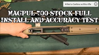 Magpul 700 Hunter Stock Full Review and Accuracy Test
