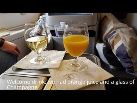 Flight review, Lufthansa New Business Class,  PEK - FRA, A380 upper deck