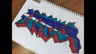 Hoper ST Graffiti Exchange | Aryan Kumar | Speed Art