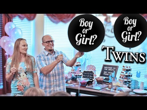 Twin Baby GENDER REVEAL Announcement PARTY! // Surprise Emotional Pregnancy Update 2019
