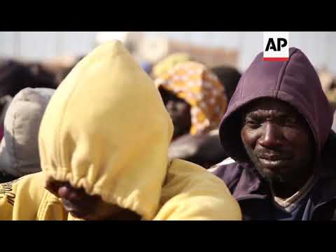 Over 1,000 migrants moved between Libyan detention centres
