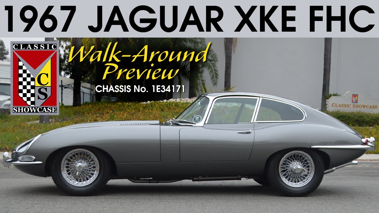 1967 Jaguar XKE Fixed Head Coupe - Walk-Around Preview (4K)