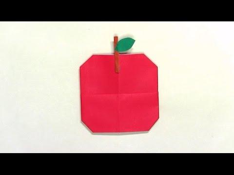 バラ 折り紙 折り紙 りんご : youtube.com