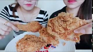 ASMR KFC Fried Chicken Eating Sound . So Crunchy| #10 MisS日常