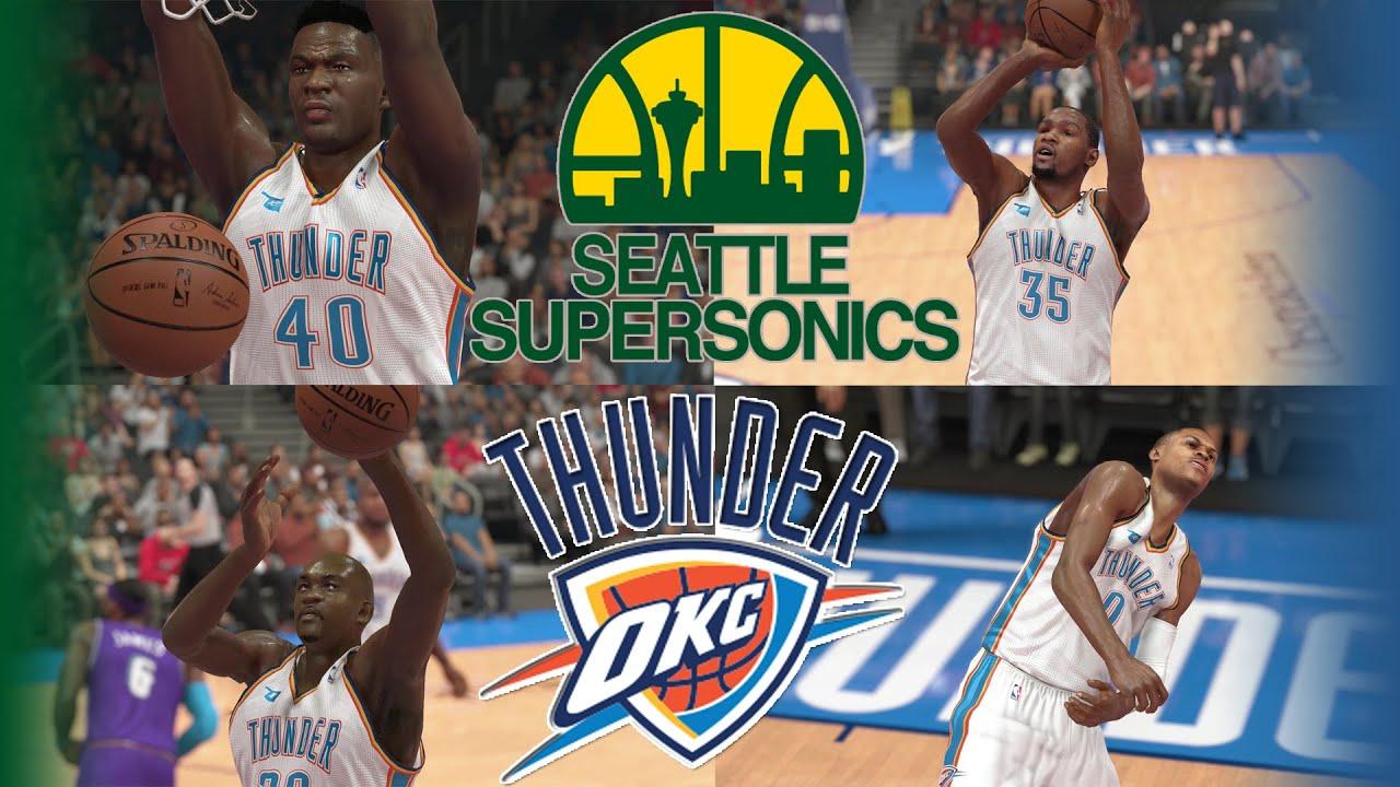 New NBA 2k14 MyTeam | Seattle Thunder Team! Kevin Durant, Gary Payton  YX34