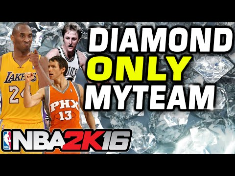 NBA 2k16 ALL DIAMOND MYTEAM