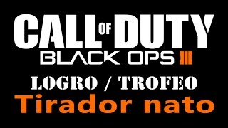 Call of Duty: Black Ops 3 - Logro / Trofeo Tirador nato (Crackshot)