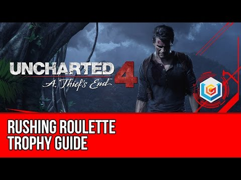 Uncharted 4 Rushing Roulette Trophy Guide (Chapter 10) - Pistol, Machine Gun & Grenade in 15 seconds