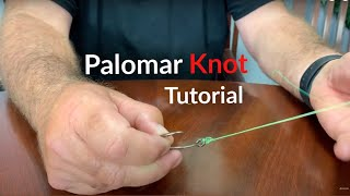 How to Tie a Palomar Knot | Tutorial