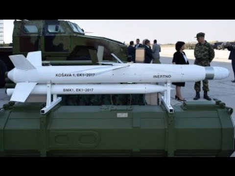 Prva srpska krstareća raketa Košava 1 - First Serbian Cruise Missile