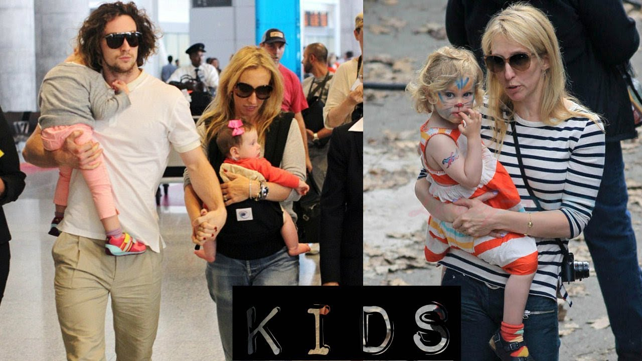 Aaron Taylor Johnson Kids | Daughters Wylda & Romy - YouTube