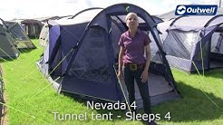 Outwell Nevada 4 Tent | Innovative Family Camping