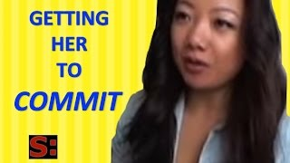 DATING ADVICE: How to get a girl to commit? (DATING ADVICE FOR GUYS)