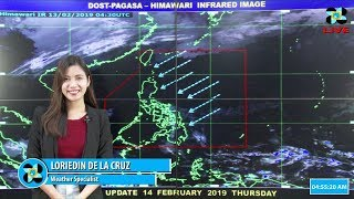 Public Weather Forecast Issued at 4:00 AM February 14, 2019