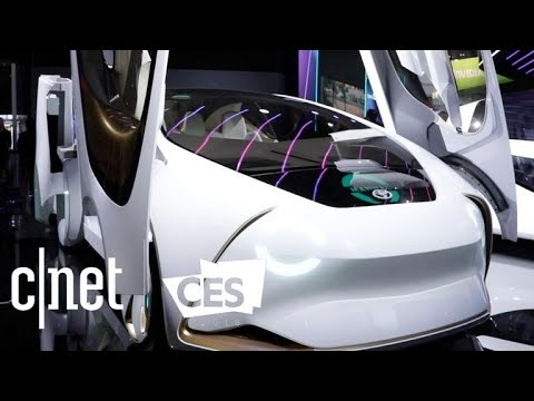 Brain-assisted cars, taxi drones round out transportation concepts