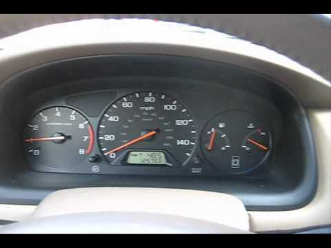 Honda Accord Speedometer Malfunction - YouTube