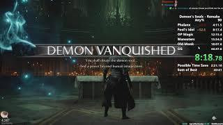 Demon's Souls Remake - Any% Speedrun in 39:07 IGT (No Wrong Warp)