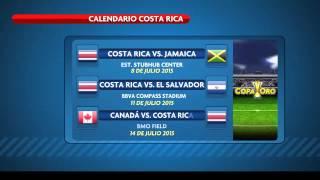 Costa Rica en el Grupo B de la Copa Oro