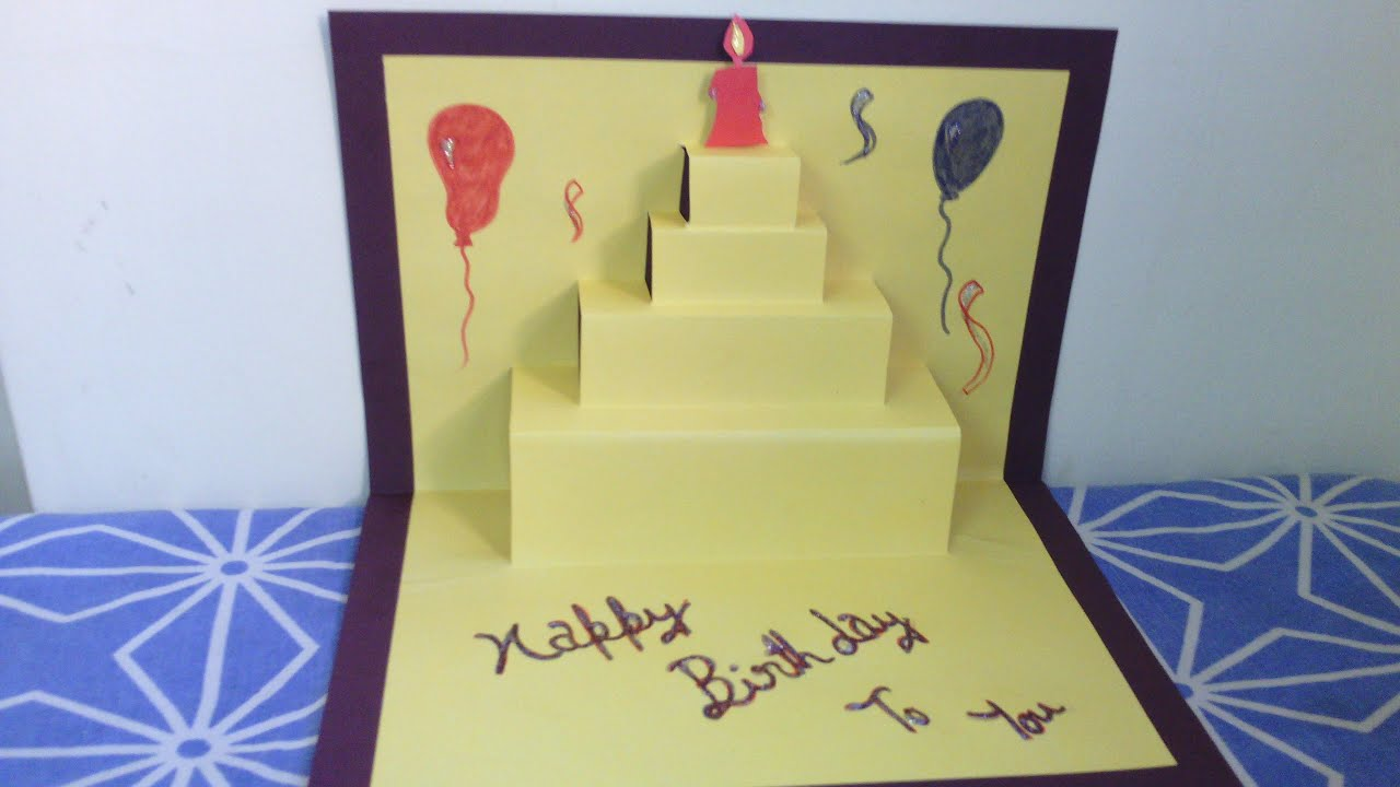 Birthday Cards for Friends YouTube – Birthday Cards Decoration