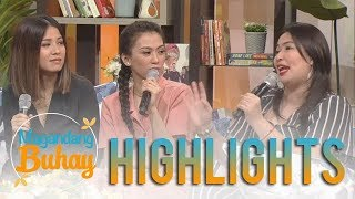 Magandang Buhay: Janna and Winnie describe what kind of girlfriend Alex Gonzaga is