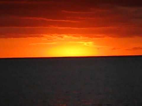 Tahitian Sunset - Le Tahaa