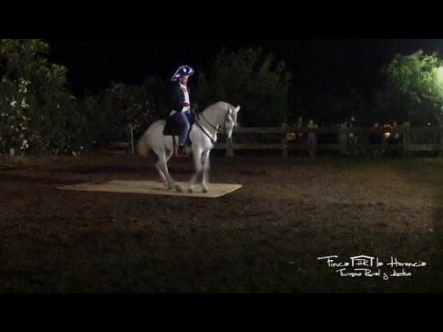 Espectáculo ecuestre en el Hotel Rural Finca La Herencia