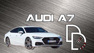 Audi A7 2019 премиальный лифтбек.  Тест-драйв от Di Drive