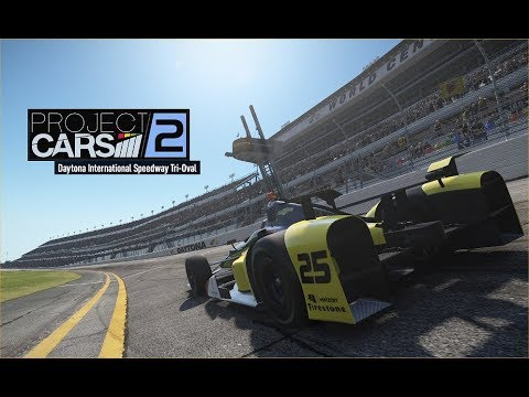 Project CARS 2™;   INDY CARS @ Daytona Tri Oval