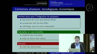 2011 - Les matériaux magnétiques un exemple de sujet transdisciplinaire par M. MAZALEYRAT