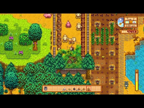 Stardew valley : is that the greenhouse?