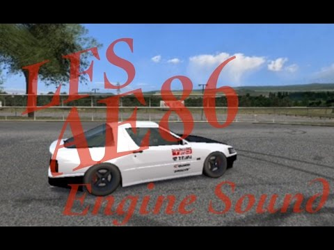 LFS AE86 Engine Sound Mod