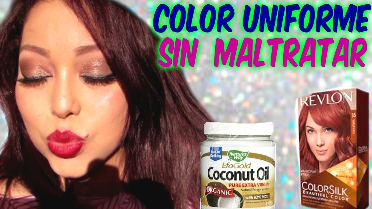 Como pintar tu pelo en casa con aceite de coco youtube for Como pintar tu casa